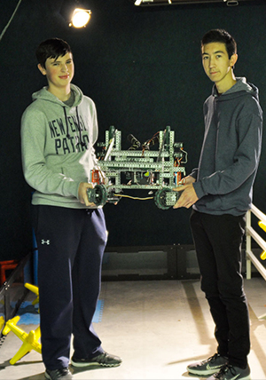 Milton Robotics Team wins Tournament